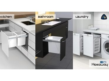 Hideaway Bins is showcasing its products at the Melbourne Home Show from Thursday 10th to Sunday 13th April on Stand B41. Click the image to find out more!