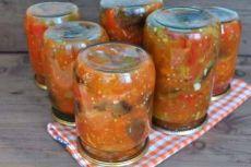 Салаты на зиму: болгарские салаты манжо и жареные кабачки - Что приготовить простые рецепты с фото