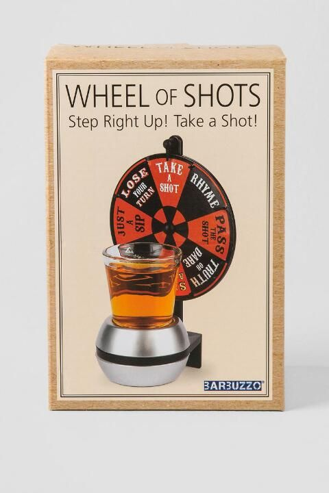 Wheel Of Shots Drinking Game- gift-cl