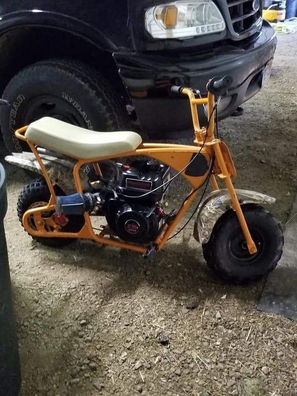 Motor Mount Plate for 4-7 HP Mini-Bikes Doodle Bug Motovox Predator Honda Baja