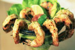 Margarita Shrimp #Salad with Honey Lime Vinaigrette