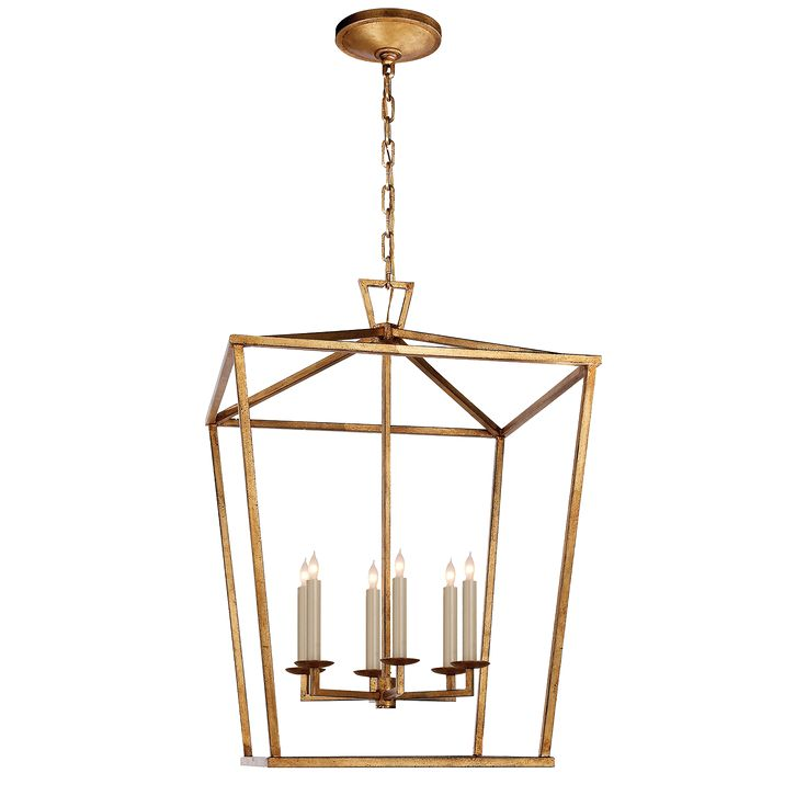Aged Iron  Great transitional light - perfect for resale and would bring in the gold/brass look to the space.