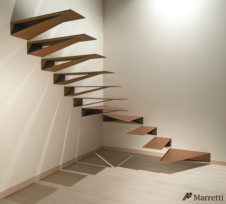 """""""Origami"""" staircase - Marretti"""