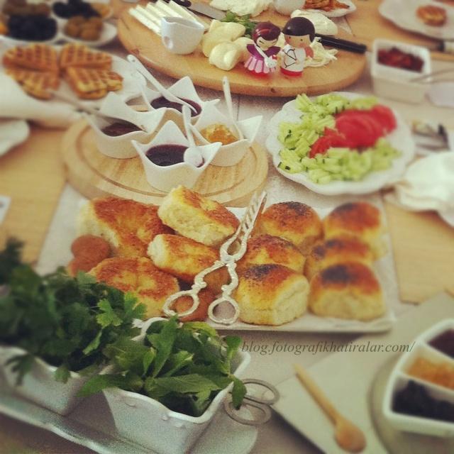 Turkish Breakfast, yesillik sunum