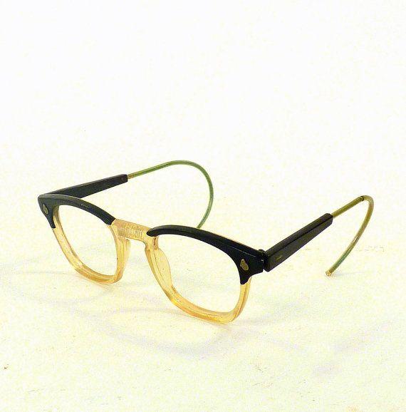 Vintage Eye wear Mens Eyeglasses 1930 American Optical by ByHeart. http://www.globaleyeglasses.com