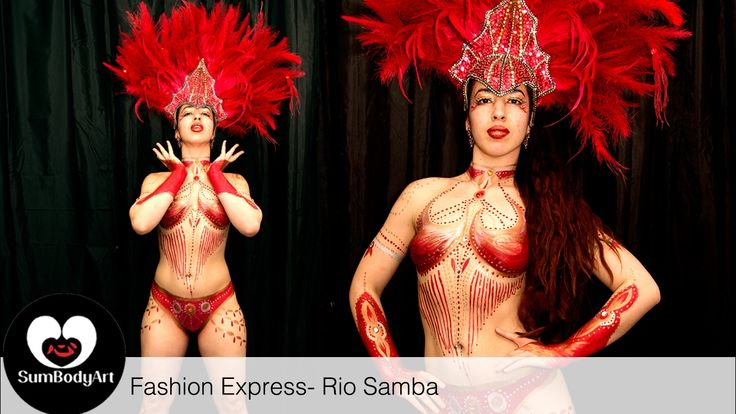 SumBodyArt's Fashion Express- Rio Samba