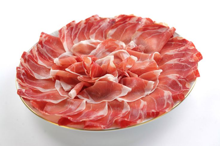 Fiocchetto of Ham seasoned Ravanetti Whole, weigh 1,9 Kg. Only for Europe http://bit.ly/1WAo4r2