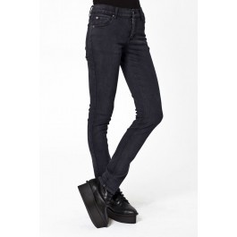 Blugi pt femei Cheap Monday Tight OD Almost Black - 225 lei -  http://superjeans.ro/femei/femei-blugi/cheap-monday-tight-od-almost-black.html