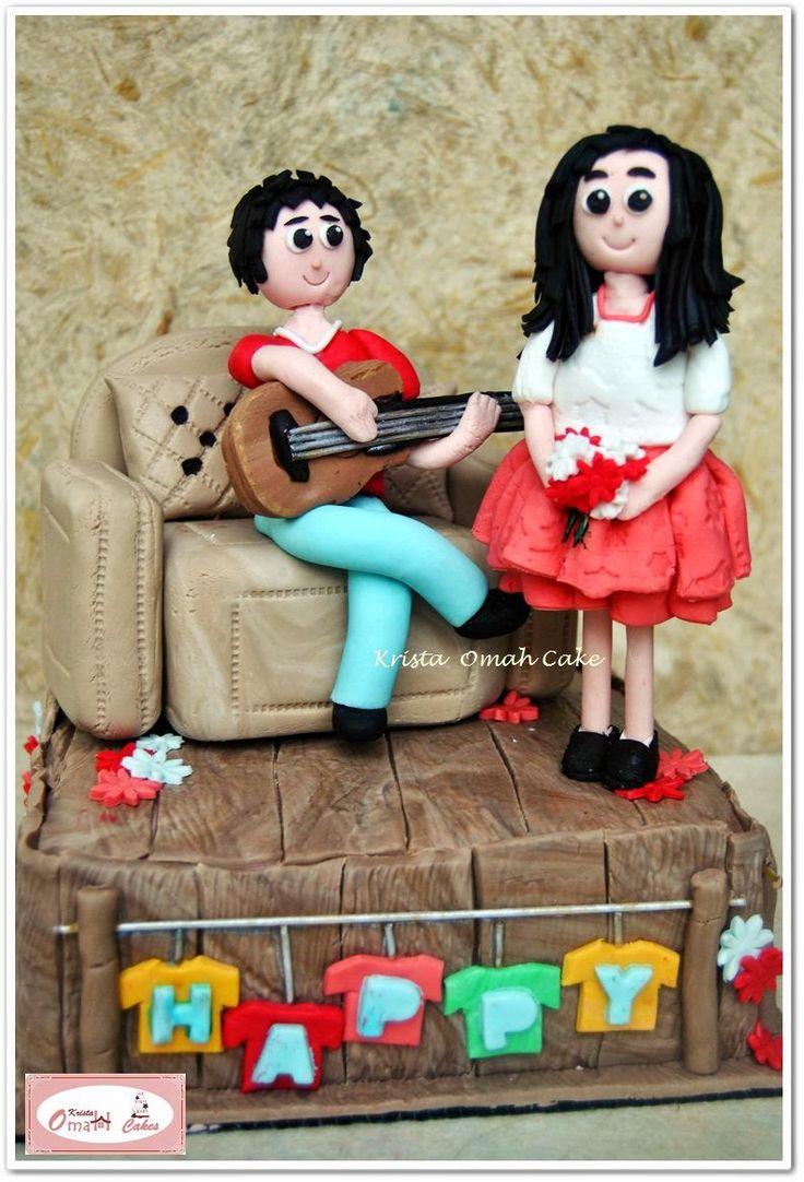 KRISTA MOCAF KITCHEN: Anniversary Cake