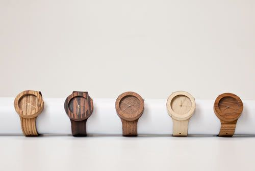 Analog Wood Watches by Lorenzo Buffa Photo