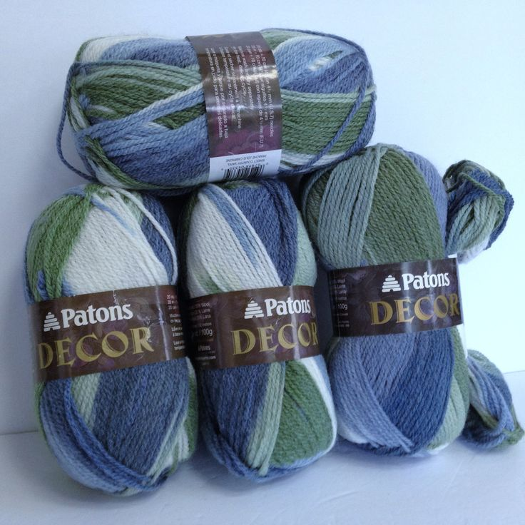 Patons Wool Bundle Vintage Patons Decor Yarn 4 Skeins Sweet Country Variegated Yarn Traditional Colors Wool Blend Crochet or Knitting Yarn by HeyJudeCollection on Etsy