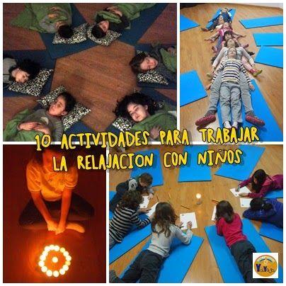 10 actividades para trabajar la relajación con niños