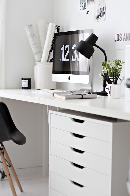 Workspace - I want that cabinet from Ikea ...