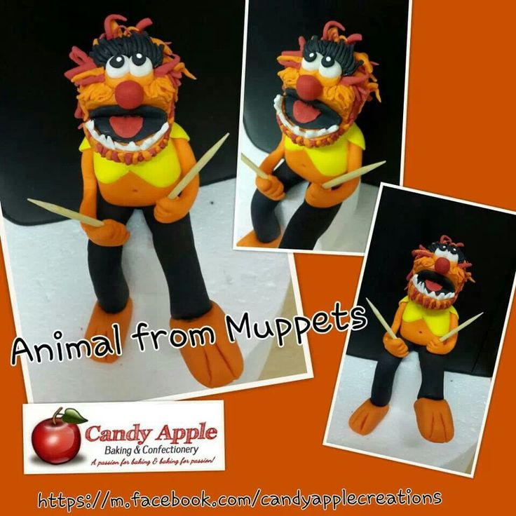 Animal from muppets
