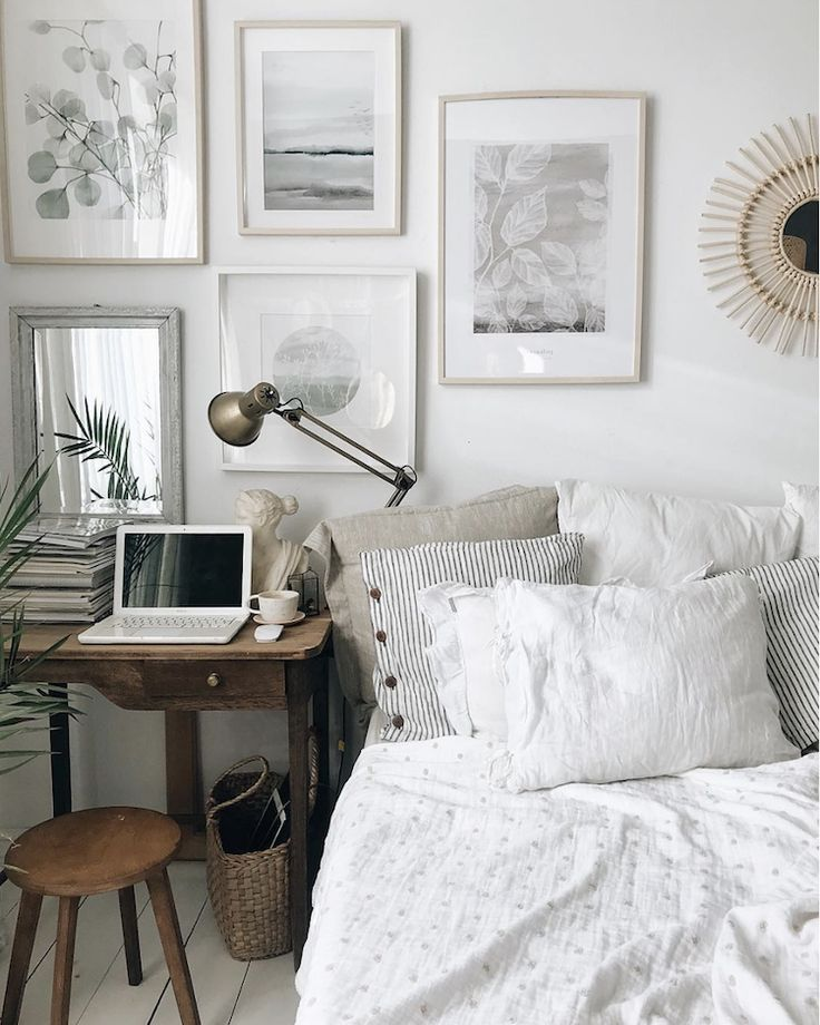 My Scandinavian Home The Charming Creative Home Of A Polish Artist Home Decor Bedroom Interior Small Home Office