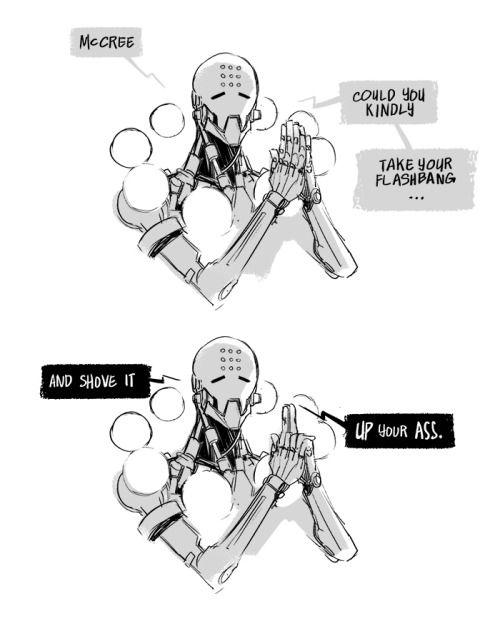 gengi comic funny - overwatch