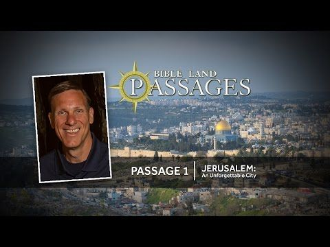 http://biblelandpassages.org/passages/passage-1-jerusalem-an-unforgettable-city/ Jerusalem: An Unforgettable City is a documentary about the significance and grandeur of the ancient city of Jerusalem, and its relationship to biblical history and thought. Shot on location in Israel, this film examines the unique location, topography, history, and archaeological environs of what many consider to be the most important city in all of human history.
