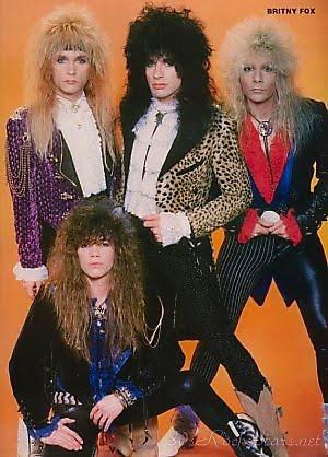 Glam Band From the East Coast #BritnyFox #HairMetal
