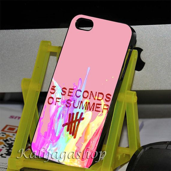 5 second of summer 5sos colorful case for iphone 4,iphone 4s,iphone 5,iphone 5c,iphone 5s,samsung galaxy s3/s4,ipod 4 and ipod 5 case on Etsy, $14.25