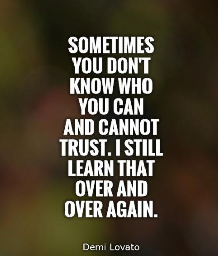 Trust Quotes Pic: 25+ Best Quotes On Trust On Pinterest
