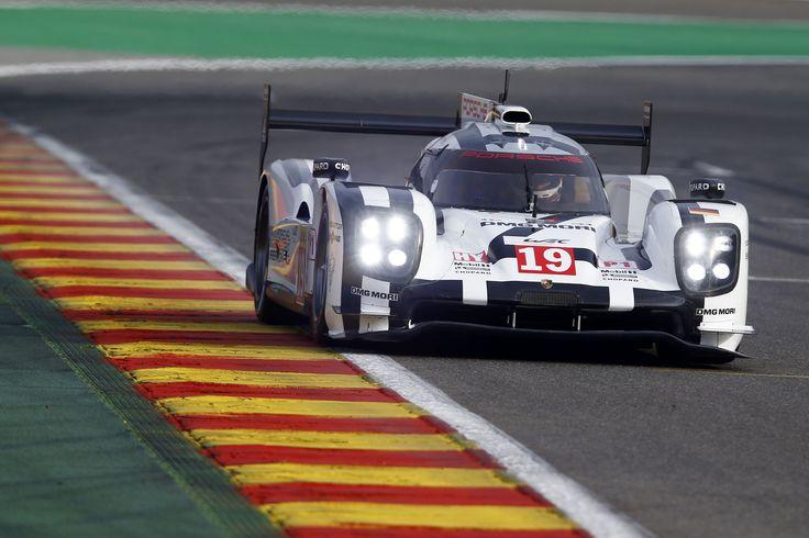 Porsche 919 Hybrid, Porsche Team: Earl Bamber, Nico Huelkenberg, Nick Tandy