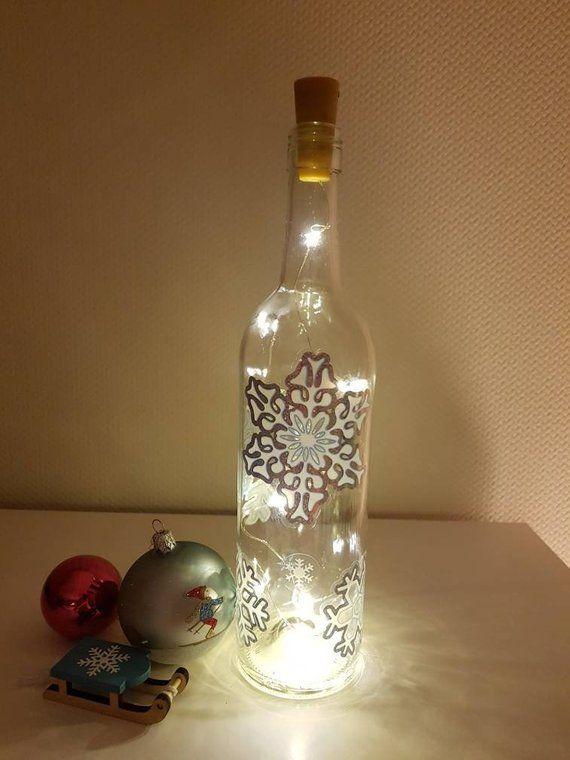 24+ Flasche mit lichterkette selber machen Trends