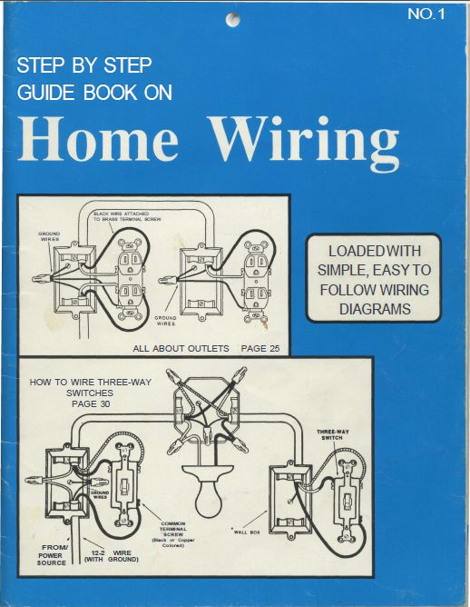 Step by step guide book on Home Wiring
