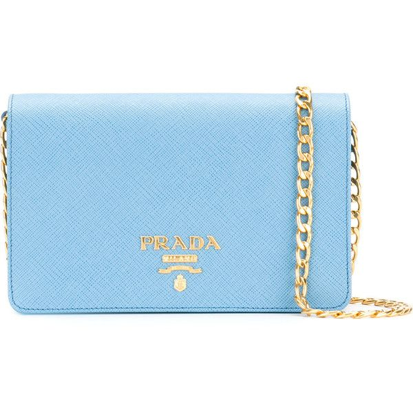 Prada Clutch Blue