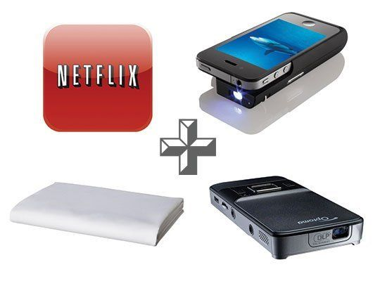 Mini Smartphone Projectors: Bringing Movies To a Backyard Near You