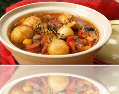 Spanish Pork & Chorizo Stew recipe - New Zealand Pork