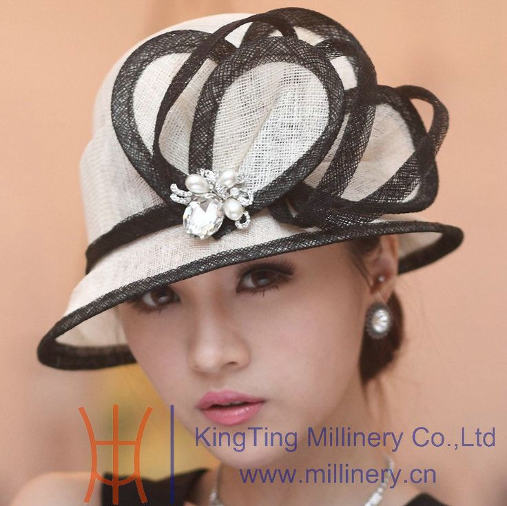womens fancy stylish hats | ... -sinamay-hat-women-s-summer-hat-sun-shading-fashion-sun-hat.jpg