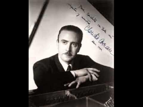 "Claudio Arrau plays Debussy  ""Jardins sous la pluie"""