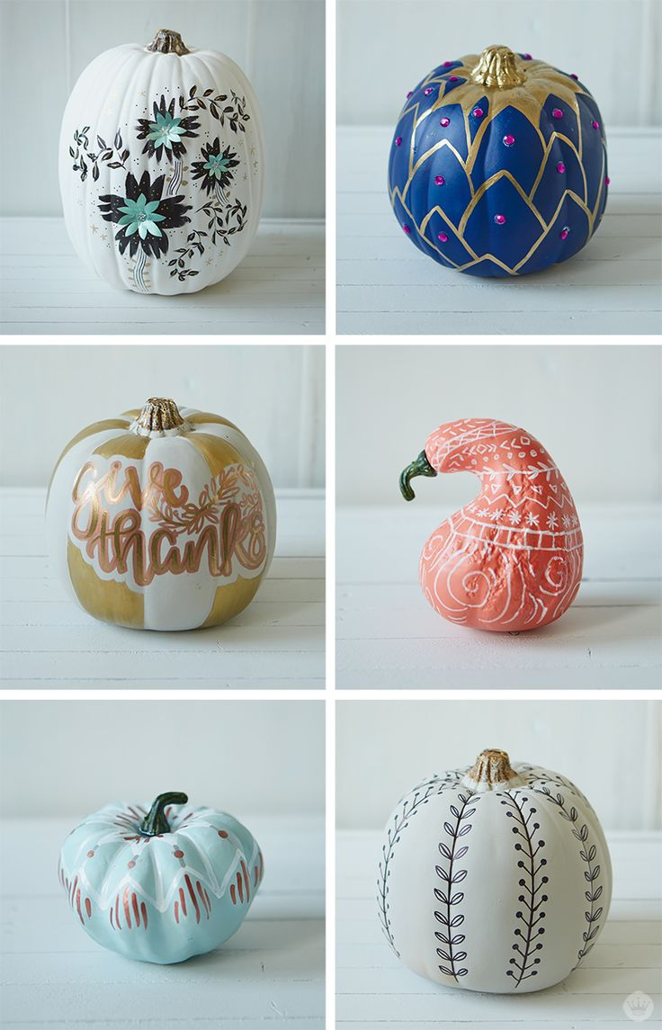 Learn tips and tricks to creating the perfect matte pumpkin. This DIY craft is easy and fun, making for the perfect holiday activity. Grab some paint, paint pens and markers, and let the crafting begin. Add your own special touch by putting a fun design on your pumpkin. For even more craft inspiration, check out Think.Make.Share., a blog from the creative studios at Hallmark!