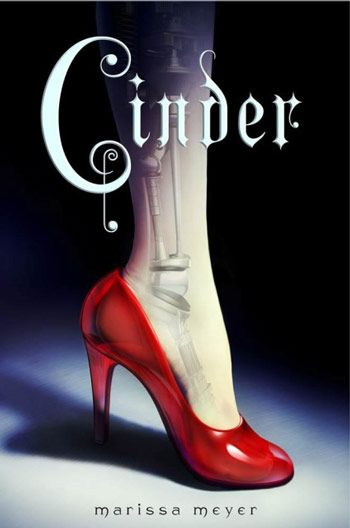 Cinder, a young adult science fiction-fantasy dystopian retelling of Cinderella. March 2014