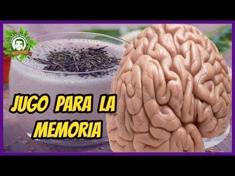 Como Hacer Jugo Para La Memoria, Cerebro, Neuronas y Hasta Contra La Demencia - YouTube