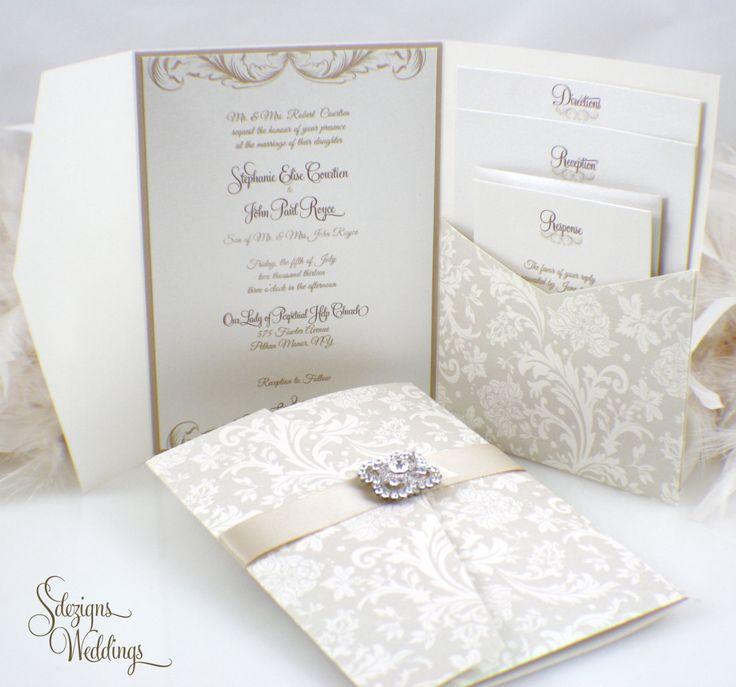 Wonderful 42 Fabulous Luxury Wedding Invitation Ideas That You Need To See