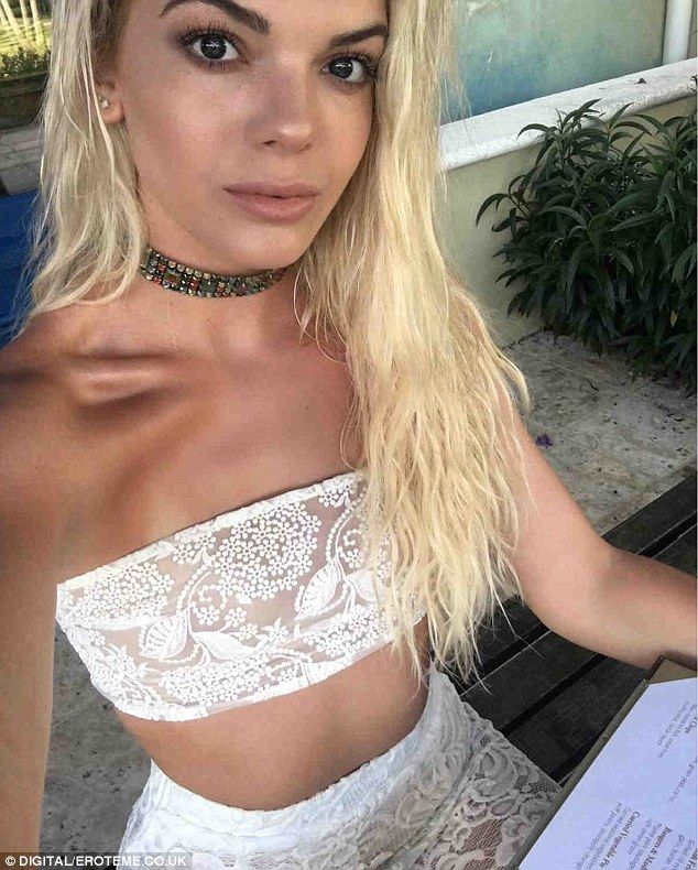 Sizzling:Louisa Johnson was up to her old tricks as she returned to Instagram to share yet more sizzling snaps from her Bahamas with boyfriend Daniel Elliott to the Bahamas with her 682,000 fans on Wednesday