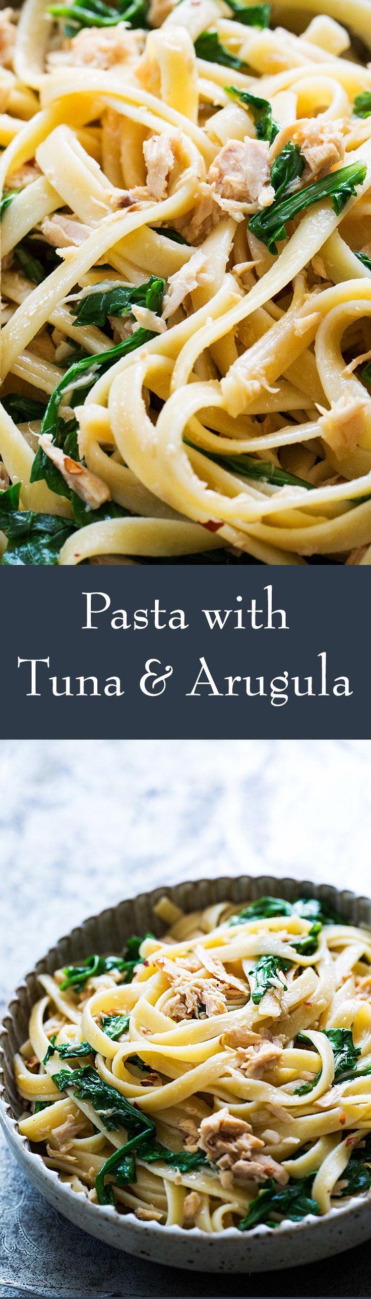 Best use of canned tuna ever! Quick and easy, takes only 25-minutes start to finish. Perfect midweek meal. On SimplyRecipes.com