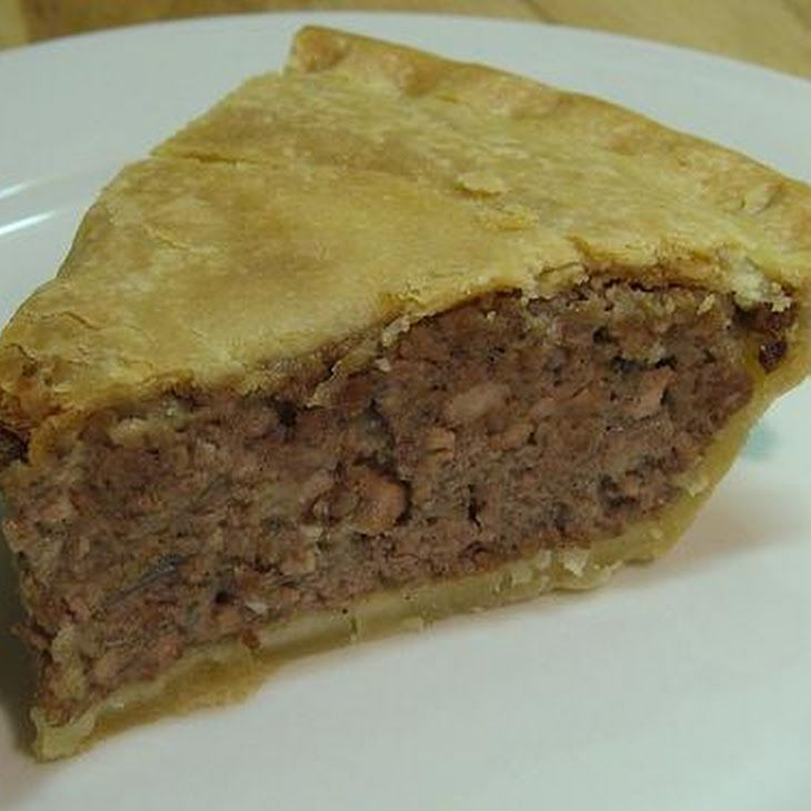 Tourtiere (French Canadian Meat Pie) | Favorite Recipes | Pinterest