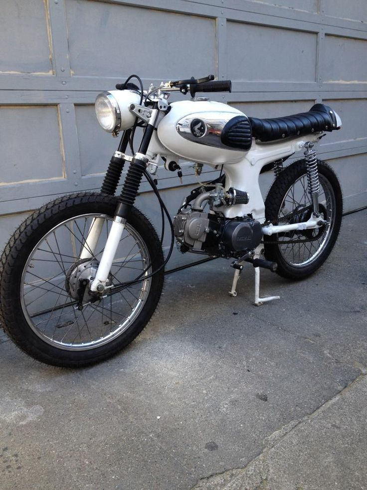 i wish. honda s90. street legal and ok on the highway. simple.