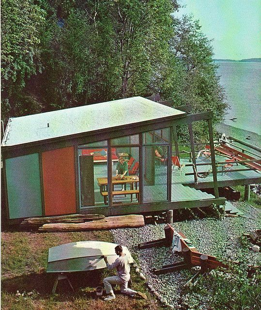 vacation cabin, 1963  .... If I ever build a cabin....