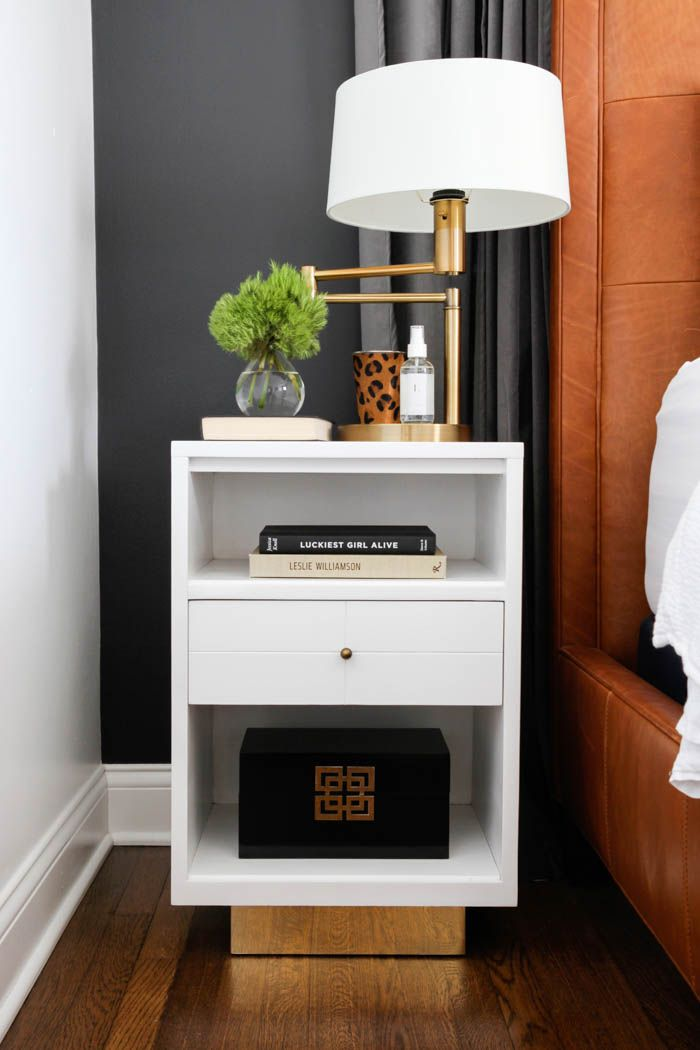 bedroom nightstand ideas 17 best ideas about gold nightstand on 10582