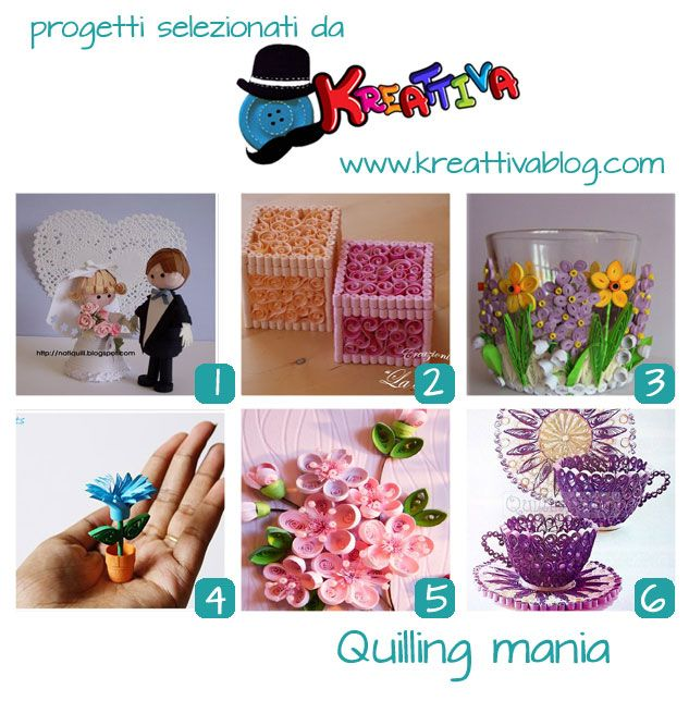 raccolta tutorial quilling