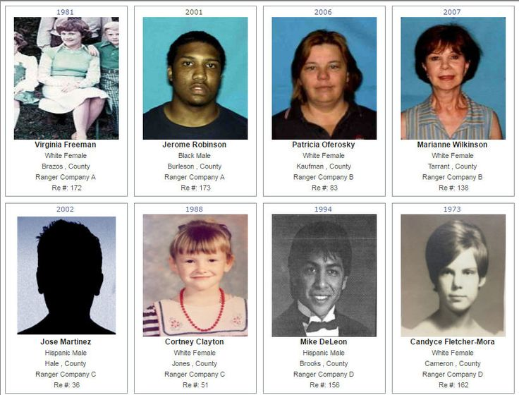Texas Rangers have turned online for help in solving cases that haunt families - unsolved murders and disappearances.