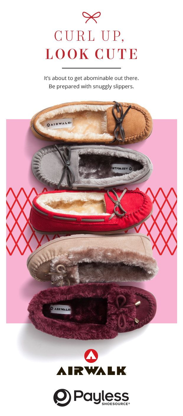 Cozy up this winter with fuzzy moccasins shoes in