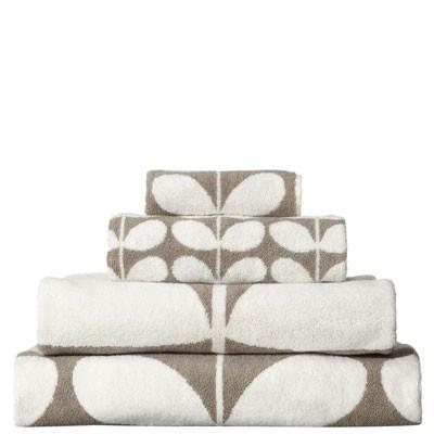Orla Kiely Bath Towel (Grey Stem) via Lark (www.larkmade.com.au)