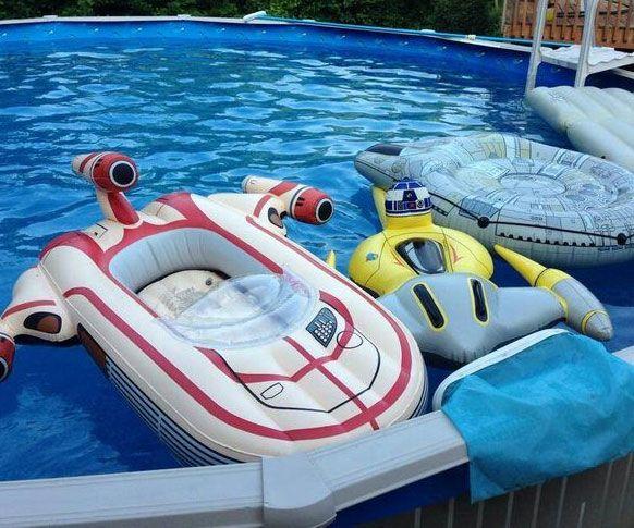 Star Wars Landspeeder Pool Float