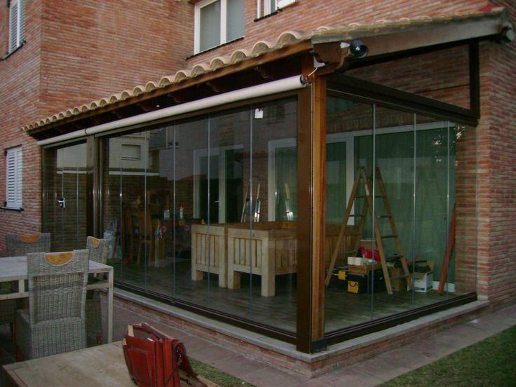 M s de 25 ideas incre bles sobre cerramientos terrazas en - Pergolas para aticos ...