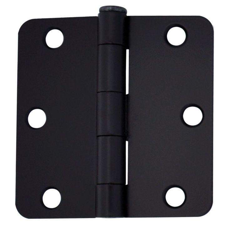 3inch iron black door hinge for 1 34inch thick door 2