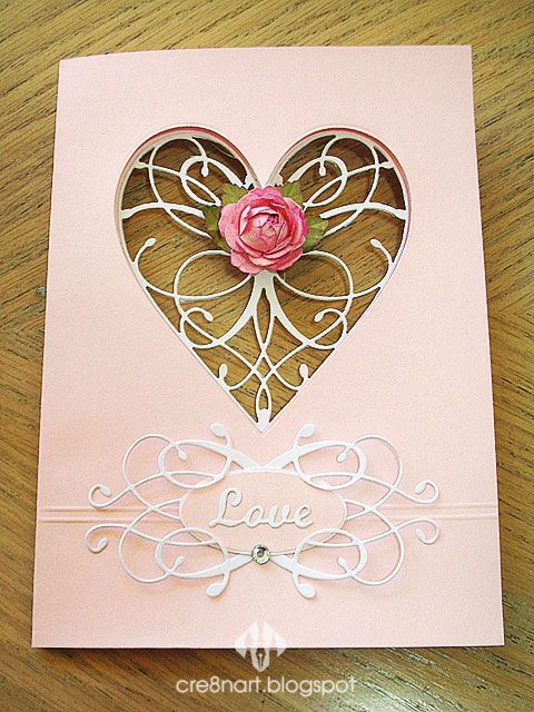 Elizibeth Crafts Dies Rose 2 As Elizabeth Craft Designs Love